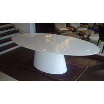 Mesa Jantar Oval 1.70 X 1.00 + 6 Cadeiras Em Fibra De Vidro