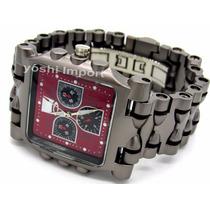Relógio Oakley Tank Minute Machine Masculino + Frete Grátis
