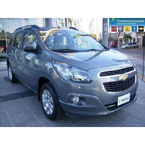 Chevrolet Spin Lt 5 A 100% Financiada $ 74118 Y Ctas S/ Int.