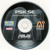 Cd Drivers Original Placa Mae Asus P5k Se