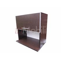 Alacena Porta Microondas Canto De Aluminio Y Piston A Gas