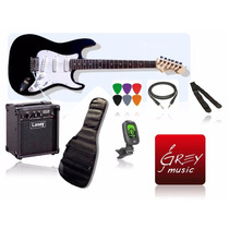 Guitarra Eléctrica+amplificador+funda+cable+correa+afinador
