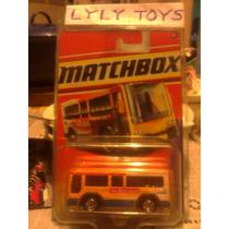 Metro Bus Matchbox
