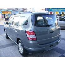 Chevrolet Spin Lt 5 A 100% Financiada $ 74118 Y Ctas S/ Int.