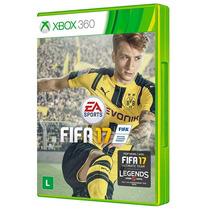 Fifa 17 2017 Xbox 360 Mídia Física Português Pt Br Original