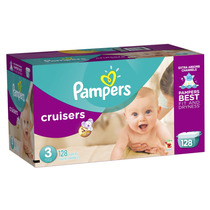Pampers Cruisers Etapa 3 (7-13kg) - 128 Piezas