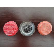 Tampinha Coca-cola Ou Fanta - Promoção Mini Bolas Olímpicas