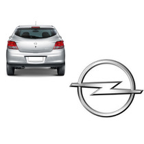 Emblema Opel Cromado Astra Corsa Vectra Zafira Enjoy Etc