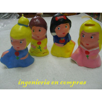 Vela Para Pastel De Princesas