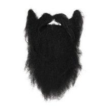 Disfraz De Pirata - Barba Negra Larga Para Hombre