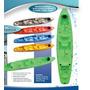 Kayak Rocker Warrior Triplo+2- Remos- 2/3-personas-nuevo.