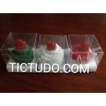 Lembrancinha Casamento Cupcake Toalhinha Toalha C/caixa