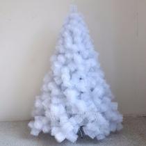 Arvore De Natal Pinheiro Branco Luxo 170 Galhos 1.20 Metros