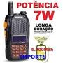 1 Radio Baofeng Uv-6r +1 Cabo +1 Antena +1 Carregador Veicul
