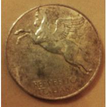 10 Liras Italianas De 1949