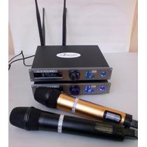 Microfone Sem Fio Profissional Uhf Als-sound ( Shure)