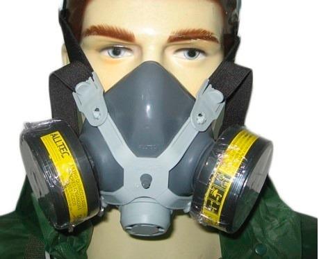 Mascara Respiratoria Facial Com 2 Filtros Para Gases Ácidos - R  92,58 em  Mercado Livre 1f07e1bbb1