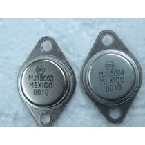 2pçs ( 1 Par ) Transistor Mj15003 + Mj15004 15003 + 15004