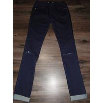 Calça Jeans Com Rasgo Tam 38! Nova