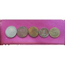 Moneda Peruana Desde Años 1991 A 1982 (5 X 50 Soles )