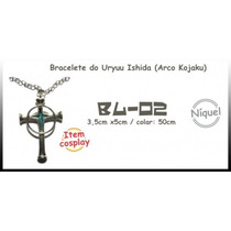 Colar Bracelete Do Uryuu Ishida (arco Kojaku) (bleach)