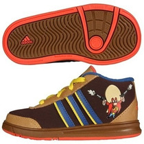 Zapatillas Adidas Sheriff Looney Toon Talle 18 Import Nuevas