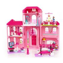 Tb Casa Para Muñecas Mega Bloks Barbie Luxury Mansion