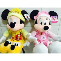Minie E Mickey Baby Kit Com 2 Pelucia 40 Centimetros
