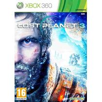 Lost Planet 3 Xbox 360 Lacrado Em Português Frete Grátis!