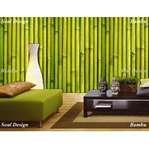 Papel Muresco Zen 34761 Vinilizado Bambu Fundasoul