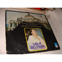 Acetato Lola Beltran Concierto En Vivo Palacio De Bellas Art