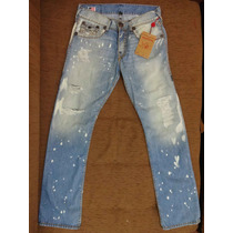 Calca Jeans True Religion 31 Us 40-42 Br Pronta Entrega Nova