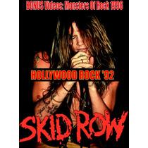 Skid Row - Dvd Live In Brazil 1992 - Bon Jovi Guns N