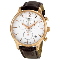 Relógio Tissot Tradition T063.617.36.037.00 Rose Original
