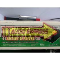 Mezcladora 4 Canales Mp3 Usb 012525