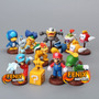 Coleção Super Mario Bros Bonecos Miniatura Mario Mini Luigi