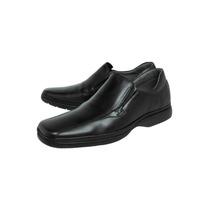 Sapato Masculino Sapatoterapia Superleve Couro Calçar 7708