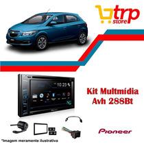 Multimidia Onix 2017 Pioneer Avh 288 Bt Dvd Usb Lançamento