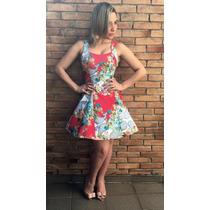 Vestido Regata Boneca Lindas Estampas Festa Verão 2017