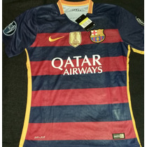 Remate Jersey Barcelona Fc 15-16 Champions Envío Gratis!!
