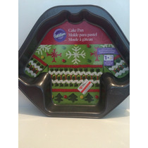Molde Para Pastel De Sueter Navidad 30x24cm Wilton