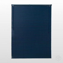 Persiana Horizontal Pvc 25mm Cortina 140 X 132 Cm Azul