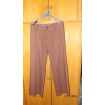 Pantalón De Lino Semi Oxford Talle 3 (l)
