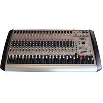 Mezcladora 20 Canales Reproductor Usb Soundtrack Efectos