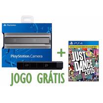 Camera Ps4 Ps Eye Playstation 4 Original Sony + Jogo Ps4