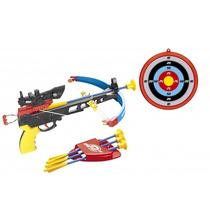 Arco Flecha Besta Mira Laser Alvo Crossbow Infantil 490700