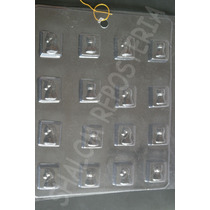 *molde Chocolate Jabon 16 Cuadritos Figuras Ajedrez*