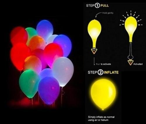globos led de colores decoracin fiestas infantiles eventos