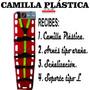 Camilla Plástica Rígida Para Rescate,emergencias Translucida