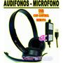 Audifonos Con Microfono Usb C/ Control Volumen P/pc O Laptop